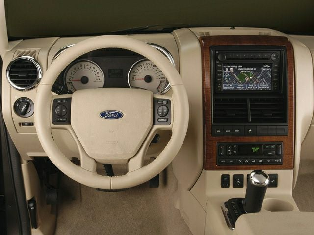 2006 ford explorer xlt interior